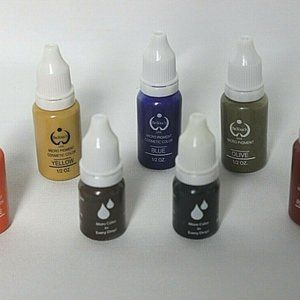 Biotech Micro Pigment Cosmetic Color Set